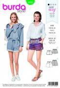 6409 Burda Pattern: Ladies Shorts